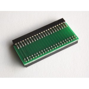 Single IDE angle connector for SD2IDE
